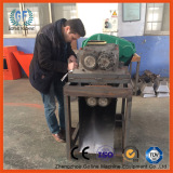 TK client inspect the ammonia fertilizer double roller granulator