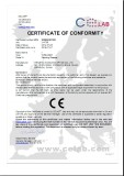 CE Certificate for Reading Glasses