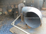 bevelling end of carbon steel elbow
