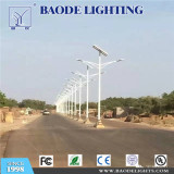 7M double 50W solar street lighting in Congo