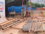HGY-200C drilling rig at water well contruction work site