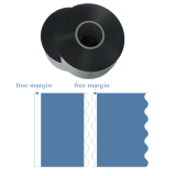 Wave cut metallized polypropylene & Polyester film