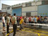 Fire Drill in Our Factory