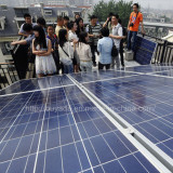 2400W solar energy installed in China.