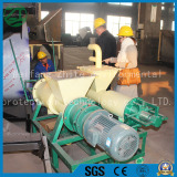 Russian customer come to visit our company for solid liquid separator