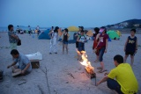 Beach BBQ with Employee′s family