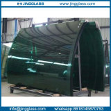 Custom Tempered Bent Laminated Window Glass Door Curved Glass