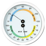 House Use Thermometers and Hygrometer SP-X-4WS(WHITE)