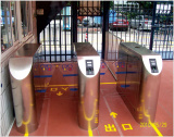 good performance tripod turnstile for schools