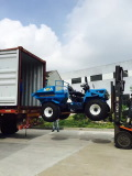 Tractor delivered to Indonesia