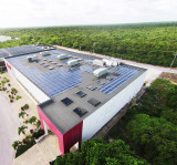 140kw solar power system in Punta Cana