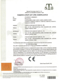 CE certificate for tempered glass