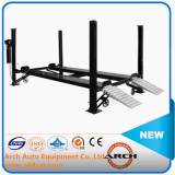 Auto Four Post Packing Lift Car Hoist Lift Platform