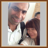 With Indian Customer