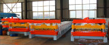 Corrugated roofing tile roll forming machine