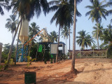 HZS35 Concrete Batching Plant Installation In Sri Lanka