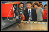 Tianqi Metal Laser Cutting Machine Presents in China Hardware Exposition