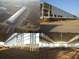 Project: South Africa Steel structure Factory