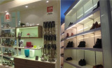 LED Light Application in grocery store and shoes stores