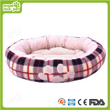 Cotton Soft Paw Print Dog Bed