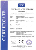 CE certificate of AHD camera