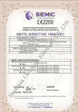 CE Certificate for Gas Detector in 2012