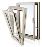 aluminum with thermal break window