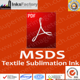 MSDS for Textile Sublimation Inks