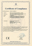 Certificate 12V LED strip CE EMC