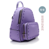 Fashionable Mini Backpack with rhinestones for Ladies Bags