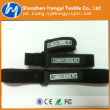 velcro tape printed logo with plastic buckle