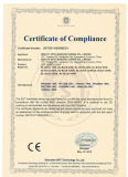 Certificate LED flood light CE EMC