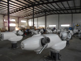 Warmly Celebrate Anhua 20kW Pitch Controlled Wind Turbine Batch Production