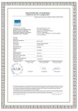 SP-5505P EIM CALIBRATION CERTIFICATE