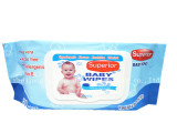 2016 80pcs new design baby wet wipes with plastic lid