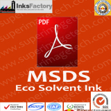 MSDS for Eco Solvent Inks
