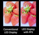 GE developed PFS phosphor can improve LED image quality greatly