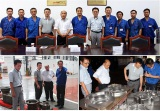 Customers from Japan visit our factory