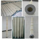High temperature resistant filter cartridge successfully used for 8000 hours