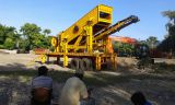50th mobile crushing and screening plant site in indonesia