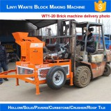 WANTE MACHINERY WT1-20 Manual hydraform brick making machine delivering to Yemen