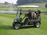 Suzhou Eagle′s golf cart at the golf course
