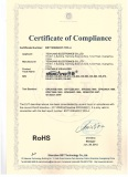 RoHS certificate for visualizer