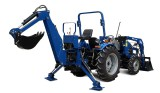 tractor backhoe digger with CE
