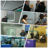Customer visit and exhibition