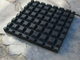 let bottom v groove rubber tile