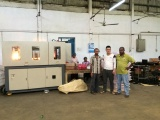 trainning or install machine at client factory