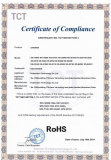 RoHS Certificate for DVR and NVR