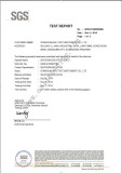 SUS 304 Stainless Steel Test Report from SGS 1