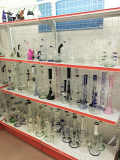 Glass Water Pipe sample shelf A